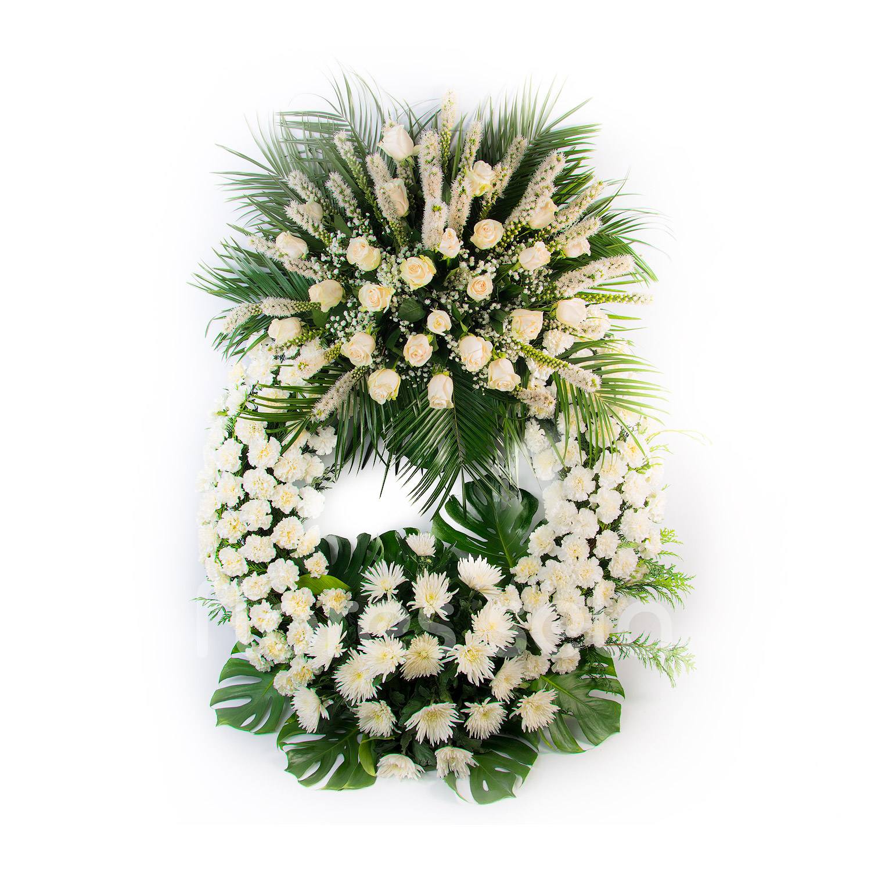 Corona Toda Blanca Copia
